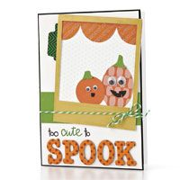 Too Cute to Spook Card by @Julie Campbell