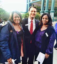 """""""The @wrcdv does life-saving work. I'm grateful I could stop by their #DomesticViolenceAwareness vigil tonight - JC"""""""