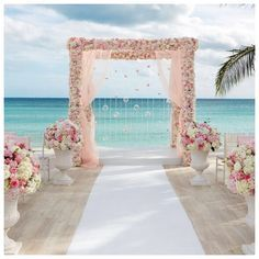 #Vows were exchanged underneath a gorgeous floral-covered arbor set against a backdrop of turquoise water! Floral Design & Décor: @colinweddings @colincowie1  Decor Photographer: @colinmillerfoto - @SharpeEventsNY  #ColinCowie #ColinMillerPhotography #SharpeEventPlanning #SharpeEvents #SharpeEventsNY #RealWedding #RealBride #WeddingCeremony #Ceremony #Alter #IDo #Floral #Decor #WeddingDecor #FloralDesign #DestinationWedding #Bahamas #Engaged #Engagement #Wedding #Weddings #WeddingPlanner