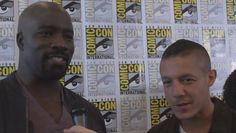 sdcc theo rossi 2016  | Comic-Con 2016 | Mike Colter & Theo Rossi on 'Luke Cage'  NETFLIX