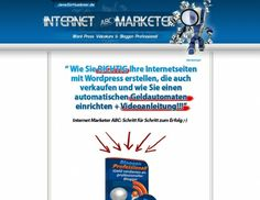 Internet Marketer ABC. All I can say is check this out.