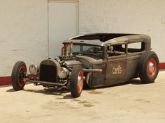 rat rods   Ford Rat Rod Roadster - articles, features, gallery, photos, buy cars ...