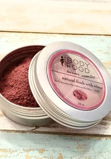 """This all natural """"flush"""" is just what you need for a rosy tint minus the…"""