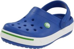 Crocs 11990 Clog (Toddler/Little Kid) crocs. $13.99. synthetic. added optional heel straps for a secure fit. Lightweight durable croslite material construction. Manmade sole. Kids Crocs, Crocband II Casual Clogs. A retro style casual clog shoe with optional back strap. Contoured orthotic footbed with massaging nubs t