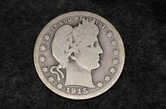 old coin; original by dukatshopping on Etsy Silver Quarters, Old Coins, Silver Coins, Barber, United States, The Unit, The Originals, Etsy, Beard Trimmer