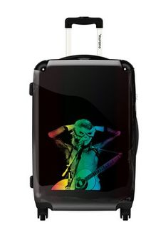 David Bowie Hard Case Luggage