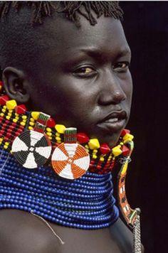Turkana tribe, Lake Turkana, Kenya