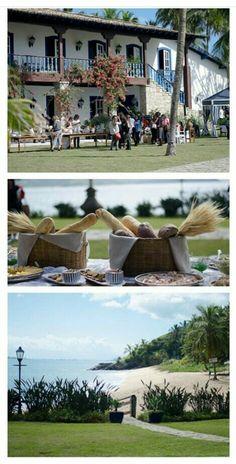 Inspiração de casamento na praia.