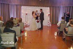 The bride and groom's big moment at Villa Olivia. http://www.discjockey.org/villa-olivia/
