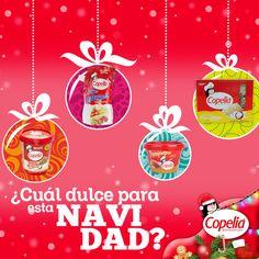 ¿Dinos cuál dulce #Copelia disfrutaras esta Navidad? ¡#DiviérteteConCopelia!