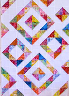 'Diamonds in the Rough' by #Canton Village Quilt Works
