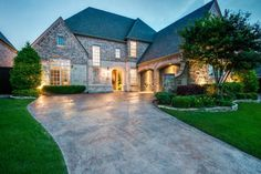 Twin Creeks Estate at 609 Naples Drive in Allen, Texas. #mynewhome #exquisite #ebbyppp