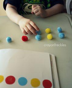 Crayon Freckles: Press Here book activities