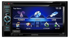 Kenwood DDX3025 - Monitor mit DVD-Player, Autoradio, Car-HiFi