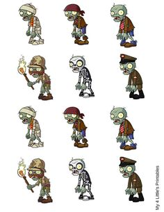 Plants vs Zombies Digital File Download by My4LittlesPrintables
