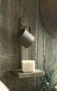 Cup and soap dish