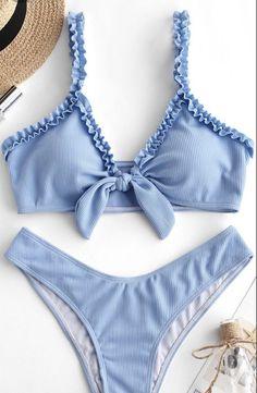 Trendy Bikinis, Summer Bikinis, Cute Bikinis, Zaful Bikinis, Swimwear Fashion, Bikini Swimwear, Bikini Fashion, Böhmisches Outfit, Mode Du Bikini