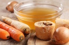 Bone Broth Benefits for Digestion, Arthritis, and Cellulite:  Bone Broth contains glycine which helps detoxify the body of chemicals and acts as antioxidant!