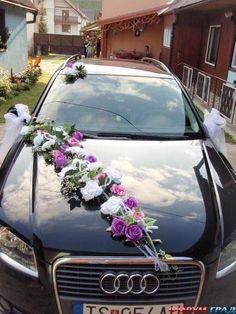 Ideas weding cars decorations 2017 for 2019 Wedding Car Decorations, Flower Decorations, Wedding Blog, Dream Wedding, Bridal Car, Car Ornaments, Here Comes The Bride, Wedding Designs, Marriage