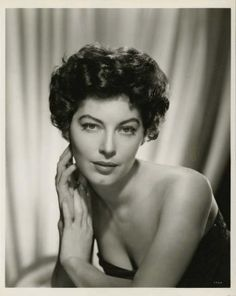 Portrait of Ava Gardner in Ride, Vaquero! directed by John Farrow, 1953. Photo by Virgil Apger