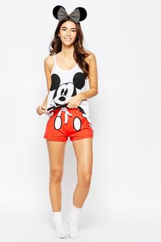 Buy Missimo Disney Mickey Mouse Short Pyjama Set at ASOS. With free delivery and return options (Ts&Cs apply), online shopping has never been so easy. Get the latest trends with ASOS now. Pajama Party, Pajama Set, Pyjama Disney, Disney Outfits, Cute Outfits, Mickey Mouse Shorts, Cute Sleepwear, Asos, Pajama Shorts
