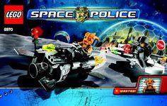 Space Police - Freeze Ray Frenzy [Lego 5970]