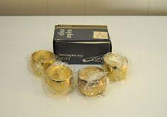 Brass Napkin HoldersSet of 4 Vintage Napkin Holders in by WVpickin