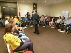 """#VIVIRdelCOACHING 34ª Edic. Enero 16. La hemos llamado """"La #Transformadora""""  1º día, aprendiendo a cómo vivir de lo que les apasiona.  #JosepeCoach #Coaching"""