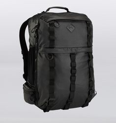 "Burton Traverse 17"" Laptop Travel Backpack - Black Rip Tarp - Rushfaster.com.au Australia"