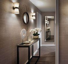 Hallway, interior decorating tips, hallway decorating, home interior design Interior Modern, Home Interior, Modern Decor, Hallway Decorating, Entryway Decor, Interior Decorating, Interior Designing, Decorating Tips, Wall Decor