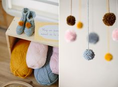 Crafty pink, yellow, and grey baby shower in Barcelona by Fueron Felicies   Kiss and Chips Photography   100 Layer Cakelet