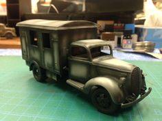 イメージ2 - フォード.G917T の進捗状況~ 重い腰を上げてと・・・。の画像 - モモンガモデルのブログ - Yahoo!ブログ