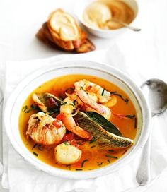 French Bouilabaisse with Rouille recipe   Food   In Season   MiNDFOOD