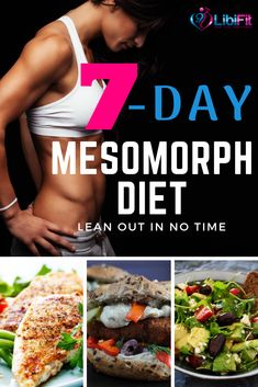 7-Day Proven Diet and Exercise Plan for the Mesomorph Female - Libifit
