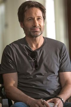 David Duchovny is a f*cking beautiful man