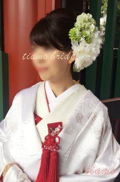 満開桜♡神前式から始まる素敵なウエディングDAY! の画像|大人可愛いブライダルヘアメイク『tiamo』の結婚カタログ