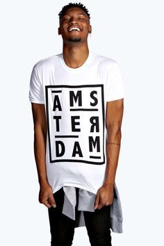 The power of t-shirt is here! Ams-ter-dam (now a2b0797fce5