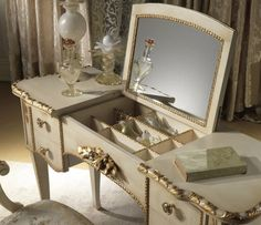 Makeup Vanities For Exciting Bathroom And Bedroom Furniture Design