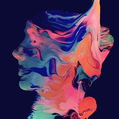 Sam Chirnside is a graphic designer based in New York and Melbourne. He makes abstract digital paintings with mixing and graduations of colors that play with textures. He sometimes does digital collages and surimpression. A selection of his work is available in the gallery.