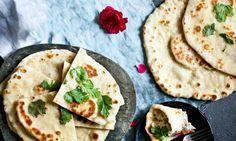Indický chléb Kulcha