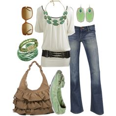 Love the green.... my-style