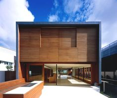 Perfect demonstration of the coupling of wood and #contemporary #design.