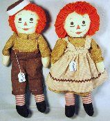 Raggedy Ann and Andy Home made
