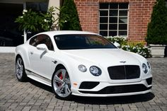 2016 Bentley Continental GT Speed Coupe Automatic GLACIER WHITE