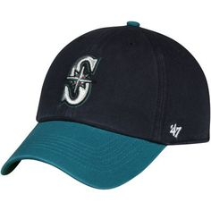 Seattle Mariners  47 MLB Franchise Fitted Hat - Navy Seattle Mariners 2f1431867c4c