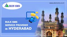 Hello Hyderabad! Our cost effective #Bulk #SMS is at your service. Find us here: https://aikonsms.co.in/bulk-sms-provider-in-hyderabad
