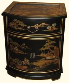 Shop a great selection of Oriental End Table Mahogany Glass Luxuriously Soft Felt Lined Drawer H. Find new offer and Similar products for Oriental End Table Mahogany Glass Luxuriously Soft Felt Lined Drawer H. Asian Furniture, Chinese Furniture, Oriental Furniture, Furniture Decor, Furniture Design, Blue And White Vase, White Vases, Asian Landscape, Japanese Landscape
