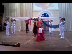 """Танец на фестивале """"Цветочная композиция"""" - YouTube"""