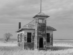 Old church on the prairie in Eastern Montana... photo by Jenn Bickler