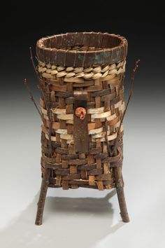 Bark & Vine Basket by Matt Tommey